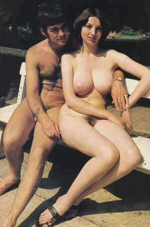 vintage nudist couples