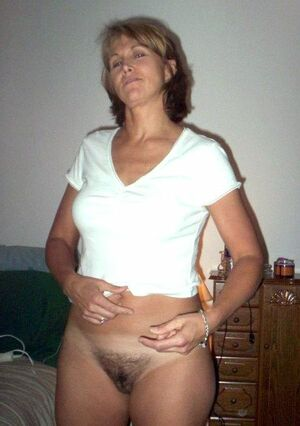 milf caught naked