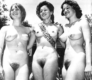 retro nudist pic