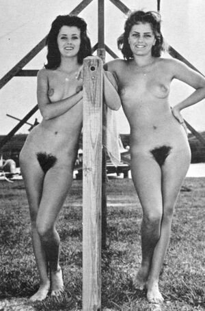vintage female nudist