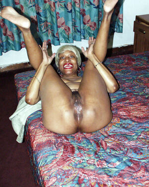 black granny blowjob