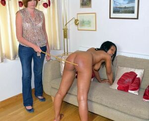 black girls spanked