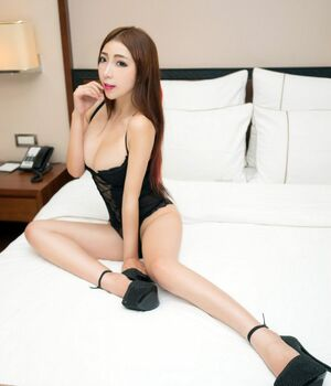 asian in high heels