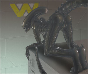 alien blowjob