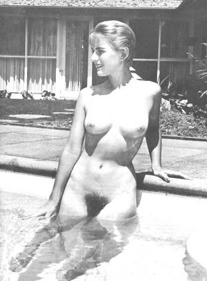 vintage nudist women