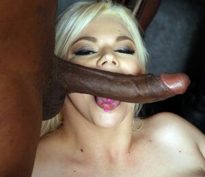 blacks on blondes gangbang