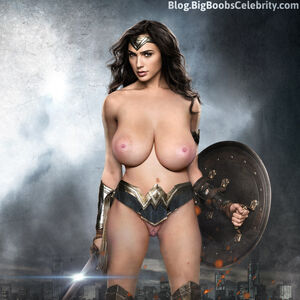 wonder woman nude