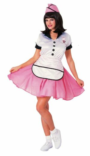 sexy soda pop girl costume
